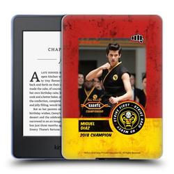Head Case Designs Officially Licensed Cobra Kai Graphics 2 Miguel Diaz Karate Soft Gel Case Compatible with Amazon Kindle Paperwhite 1 / 2 / 3