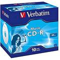 Verbatim Cdr Audio Live It Colours 80 min. pack