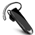 Bluetooth Headset,Wireless Bluetooth Earpiece with Noise Cancelling Mic, Ultralight Earphone Hands-Free for Trucker Driver BLACK