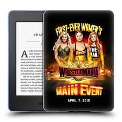 Head Case Designs Officially Licensed WWE Wrestlemania 35 Charlotte, Ronda & Becky Soft Gel Case Compatible with Amazon Kindle Paperwhite 1 / 2 / 3