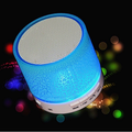 Bluetooth Speaker, Portable Adjustable 7-Color Light 360° Stereo Sound Music Speakers With 5-Hour Playtime, Works With Mobile Phones, Tablets, Laptops And Desktop Computersand More