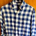 J. Crew Shirts   J . Crew Mens Linen Shirt   Color: Blue   Size: S