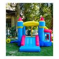 RETRO JUMP kids Inflatable Bounce House, Bounce Castle w/ Jumping Ball Pit & Basketball Hoop, Inflatable Bouncer For Party, Ocean Balls, Blower, Pat