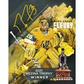 """Marc-Andre Fleury Vegas Golden Knights Autographed Stretched 16"""" x 20"""" 2021 Vezina Trophy Winner Canvas"""