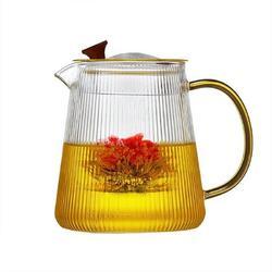Mercer41 Lass Teapot w/ Removable Infuser, 1000Ml Safe Stovetop Tea Kettle, Blooming & Loose Leaf Tea Maker, Size 7.5 H in   Wayfair