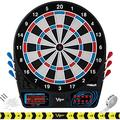 Viper by GLD Products 777 Electronic Dartboard Sport Size Over 40 Games Auto-Scoring LCD Cricket Display Impact-Tough Target for Lasting Durability and Ultra-Thin Spider for Fewer Bounce Out