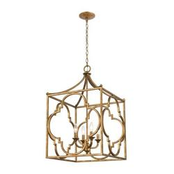 Appleton Common - 4 Light Chandelier in Traditional Style - 33 Inches tall and 19 inches wide
