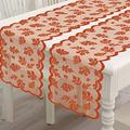 Thanksgiving Table Runner With Maple Leaves, 2 Pack Fall Harvest Lace Dinner Table Decorations For Thanksgiving Party And Daily Use-Coffee Table,Outdoor Patio Table,Dessert Table Etc,13 X 72 Inch?