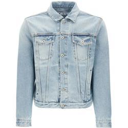 Denim Jacket S Cotton,denim - Blue - Off-White c/o Virgil Abloh Jackets