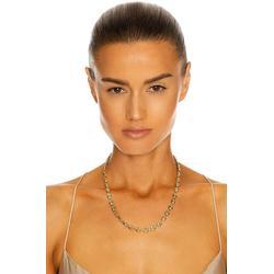 Puff Link Chain Necklace - Metallic - Loren Stewart Necklaces