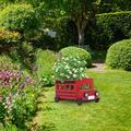 Follure Retro Style Pickup Truck Garden Decoration Flower Pot Whimsical Truck Planter