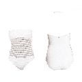 Ralph Lauren Womens Crochet Bandeau One-Piece Swimsuit (White, Size 12)