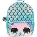 LOL Surprise! Flip Sequin Mermaid Backpack for Girls- 16 inch – Girls School Bag