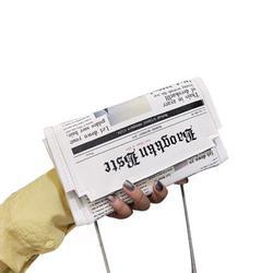 Newspaper Stylist Clutch Bag Casual Bag Evening Gift Bag Wallet Crossbody Bag Shoulder Bag