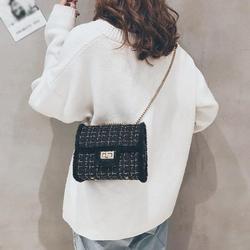 ZDMATHE New Women Weaving Shoulder Bag Casual Ladies Autumn Winter Messenger Bags Female Small Crossbody Bag Delicate