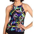 Women's Speedo 7734297 Active High Neck Tankini Swim Top