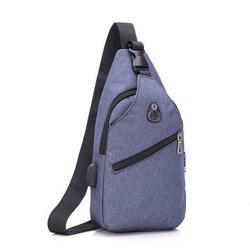 Men's&Women's Shoulder Bag Chest Bag Casual Chest Bag Boy's&Girl's Messenger Bag Oxford Cloth Bag
