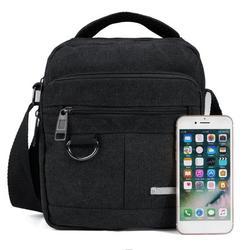 Men's Messenger Bag,Small Crossbody Shoulder Daypack,Casual Sling Pack for Work Business