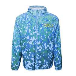 GILLZ Men's Waterman Packable Light Weight Jacket , Color: Mahi , Size: M (GMJWPPackH-BFT-M)