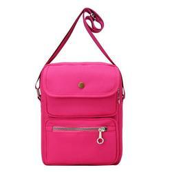 Zewfffr Women Messenger Bag Nylon Shoulder Bag Travel Casual Crossbody Bags/Red