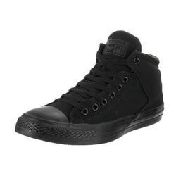 Converse Unisex Chuck Taylor All Star High Street Hi Black/Black Casual Shoe 8.5 Men US / 10.5 Women US
