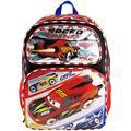 "Backpack - Disney - Cars Lighting McQUeen Speed Frenzy 16"""
