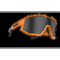Bliz Fusion Sport Sunglasses, Neon Orange Frame, Smoke Lens