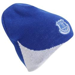 Everton FC Mens Official Soccer/Football Crest Knitted Winter Beanie Hat