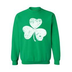 Awkward Styles St. Patrick's Day Sweatshirt Irish Clover Sweater Lucky Sweater for St. Patricks Irish Gifts Irish Shamrock Sweater Lucky Shamrock Sweatshirt Irish Pride St. Patricks Irish Sweater