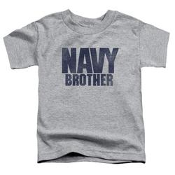 Navy - Brother - Toddler Short Sleeve Shirt - 2T
