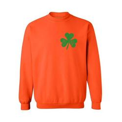 Awkward Styles St. Patricks Day Sweater Irish Clover Pocket Sweatshirt Proud Irish Sweatshirt for Men & Women Lucky Shamrock Sweater St Paddy's Day Irish Gifts Irish Pride St Patricks Sweater