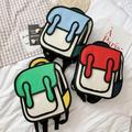 ZDMATHE Kids Kawaii Backpack School Bag Kids Outdoor Travel Pack Student Kindergarten Soft Rabbit Ears Bow Cute Backpack