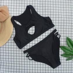 TANGNADE swimsuit women's body skirt swimsuit sexy shade swimwear Women's Tube Top Solid Color Split Swimsuit Swimwear Swimwear Bikini