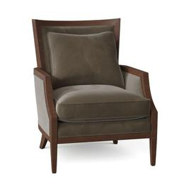 "Fairfield Chair Barton 28.5"" W Armchair Wood in Brown, Size 37.5 H x 28.5 W x 34.0 D in | Wayfair 6017-01_9953 17_Walnut"