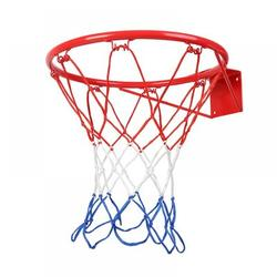 Naiyafly 18 Inches Basketball Rim Hoop Replacement All Weather Anti Whip Fits Standard Rims in Red | Wayfair YHQLK0069-1
