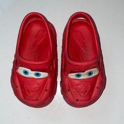 Disney Shoes | Disney Pixar Cars Croc Style Shoes | Color: Red | Size: 6bb
