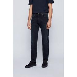 Regular-fit Jeans In Dark-blue Super-stretch Denim - Blue - BOSS by Hugo Boss Jeans