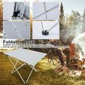 Tebru Outdoor Foldable Table, Outdoor Foldable Desk,Aluminum Alloy Table Foldable Desk Table Outdoor Camping