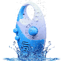 Waterproof Shower Radio, Adjustable Volume Shower AM FM Button Speaker, Bathroom Shower Speakers Wireless Radio with Top Handle