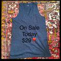 Madewell Dresses   Madewell Gray Jumper % Cotton Lnwot   Color: Gray   Size: Xl
