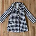 Kate Spade Jackets & Coats | Kate Spade | Houndstooth Jacket - Size Xs | Color: Black/White | Size: Xs