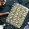 SpicyMedia Egg Holder For Refrigerator, Deviled Egg Tray Carrier w/ Lid Fridge Egg Dispenser Egg Storage Stackable Plastic Egg Containers | Wayfair