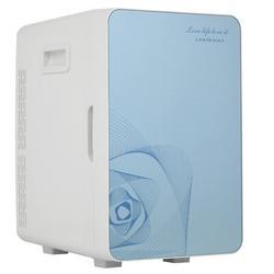GD 20 Liter Compact Cooler Warmer Mini Fridge For Bedroom, Office, Car, Dorm - Portable Makeup Skincare Fridge Plastic in Blue | Wayfair mwmy0617b2