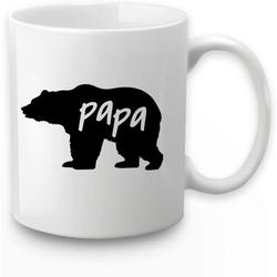 wisdomfurnitureco Papa Bear Coffee Mug Papa Bear Mug Fathers Day Mugs For Dad Husband Birthday Christmas Mugs For Dad From Daughter Son Birthday Mugs Coffee Mugs For Da