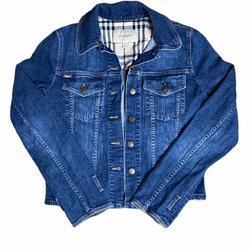 Burberry Jackets & Coats | Burberry London Jean Denim Jacket | Color: Blue | Size: 10