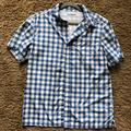 Columbia Shirts | Mens Columbia Blue Plaid Button Up Fishing Shirt | Color: Blue | Size: M
