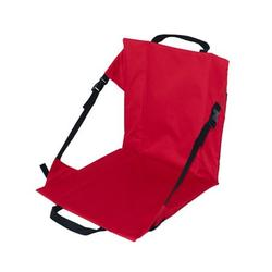 FEAMOS Portable Outdoor Camping Travel Folding Chair Comfort Seats with Backrest Beach Moisture-Proof Leisure Barbecue Cushion