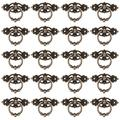 PWFE 2/4/8/10/20-Pack Retro Kitchen Zinc Alloy Cabinet Drawer Door Knobs Furniture Handles, Hardware Wardrobe Pull Handles For Home(20Pcs)