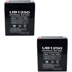 12V 5AH Alarm Security Fire System Battery 12 Volt 5AH SLA Battery (2 Pack), Buy in bulk and save! Includes two batteries. By Brand Universal Power Group