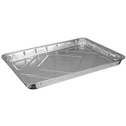 HFA 2063, Half-Size Aluminum Foil Baking Sheet Cake Pans, Take Out Baking Disposable Foil Containers (100), Manufactured from high quality aluminum foil, these pans will.., By Brand HFA